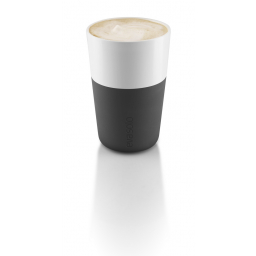 Set termohrnků Cafe Latte Black 360 ml, 2 ks