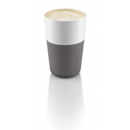 Set termohrnků Cafe Latte Grey 360 ml, 2 ks