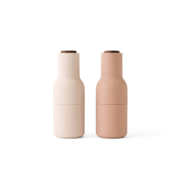 Mlýnky Bottle Nude/Walnut – set 2 ks