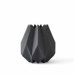 Váza Folded Tall Carbon