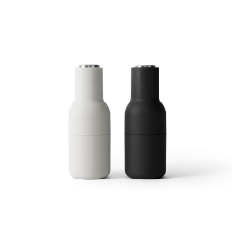 Mlýnky Bottle Ash/Steel – set 2 ks