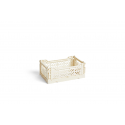 Úložný box Crate Off White S