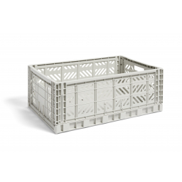 Úložný box Crate Light Grey L