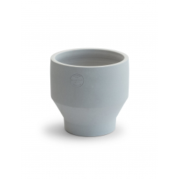 Květináč Edge Pot Light Grey M