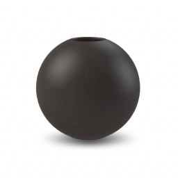 Kulatá váza Ball Black 20 cm
