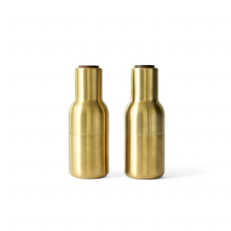Mlýnky Bottle Brushed Brass – set 2 ks