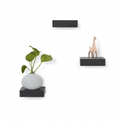 Poličky Floating Shelves - set 3 ks