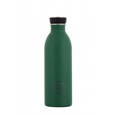 Nerezová láhev Urban Bottle Stone Jungle Green 5dl